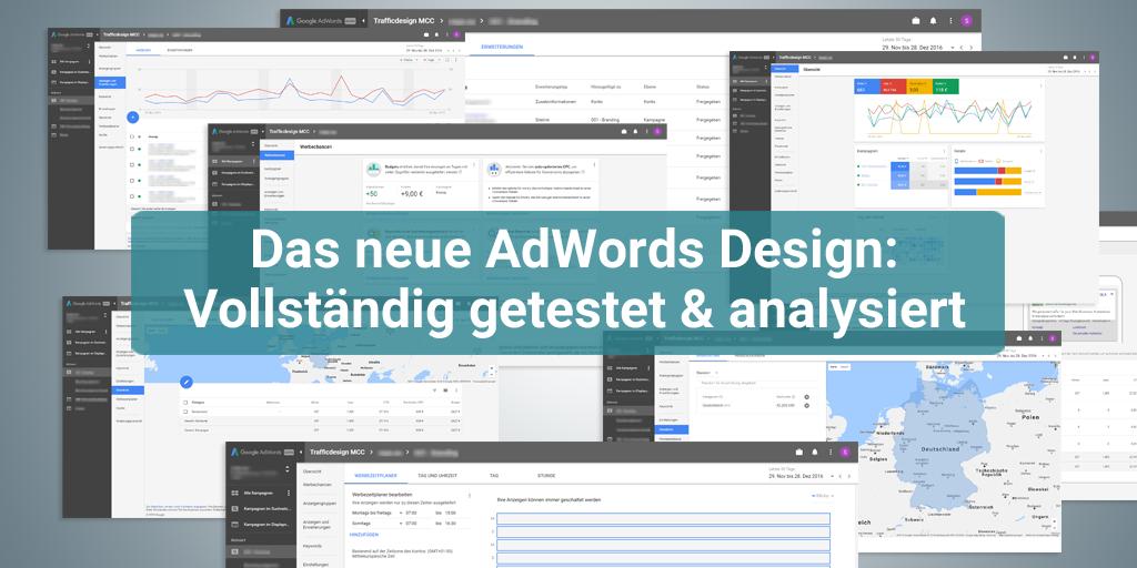 Das neue AdWords Design: Vollständig getestet und analysiert