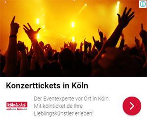 Remarketing Display Ad zu den Comedy-Empfehlungen von kölnticket.de