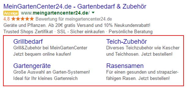 Welche Anzeigenerweiterungen gibt es bei Google AdWords? - Know How ...