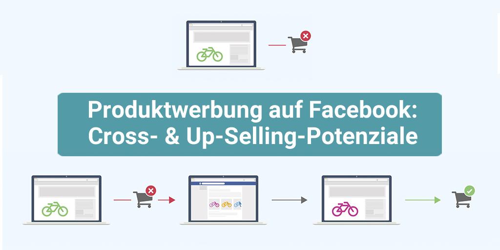 Produktwerbung auf Facebook: Cross- und Upselling Potenziale
