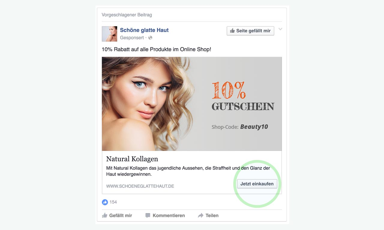 Facebook Website Click Ads