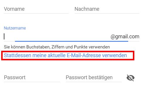 google-konto-einrichten