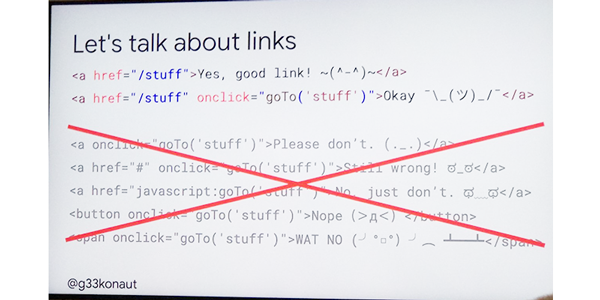 Welche JavaScript Links kann der Googlebot crawlen