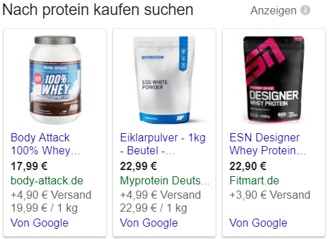 Google Shopping-Ad