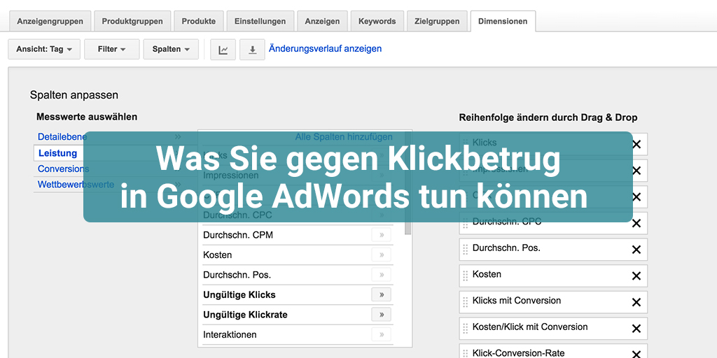 Was Sie gegen Klickbetrug bei Google AdWords tun können